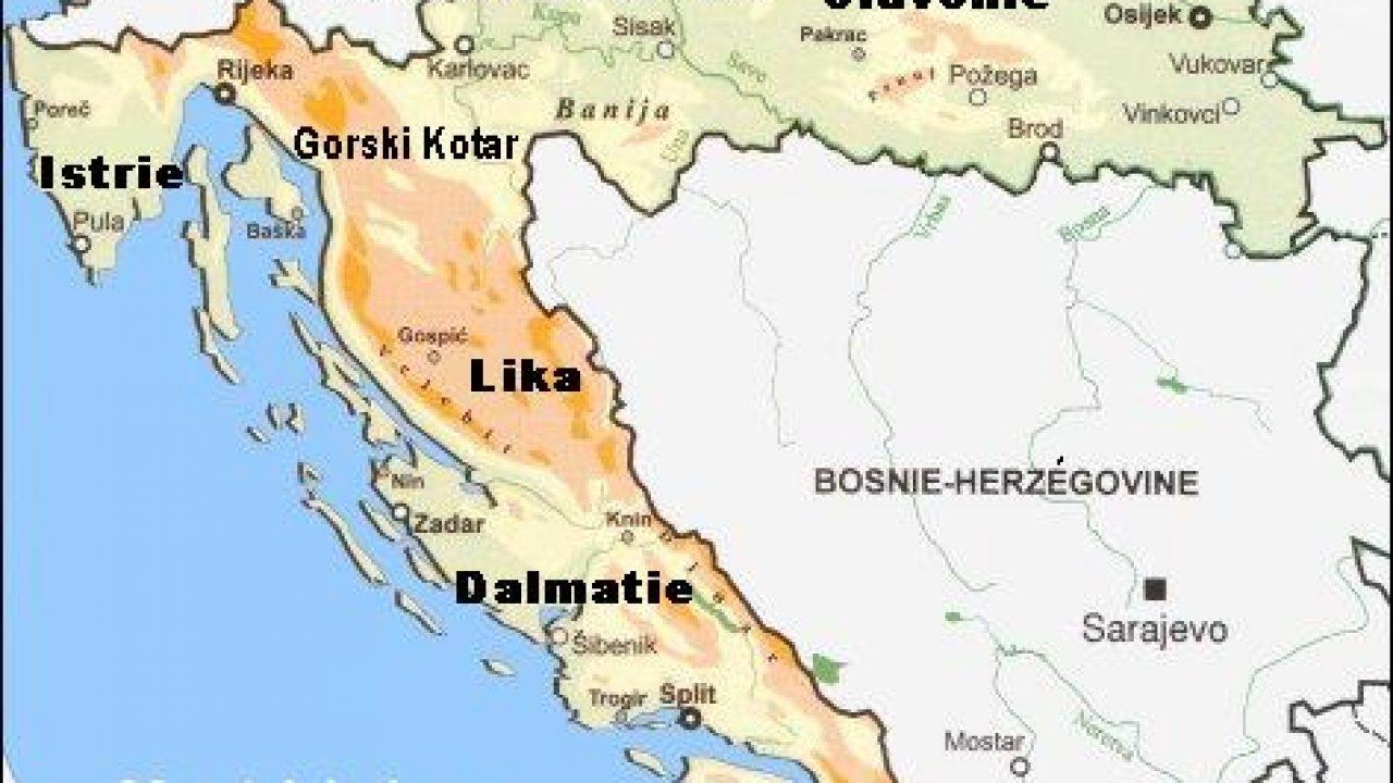 Croatie Carte Identite.Itineraires De 15 Jours En Croatie Creer Votre Circuit De Vacances