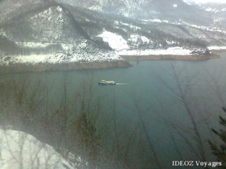 Montenegro lac bateau