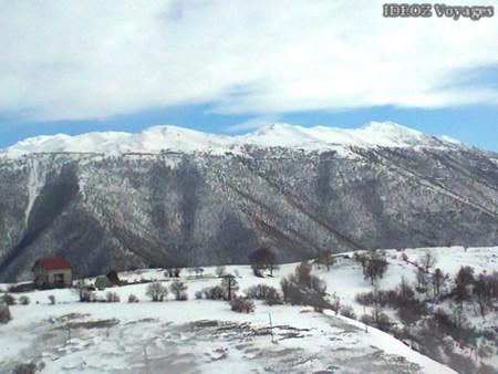Village neige Montenegro