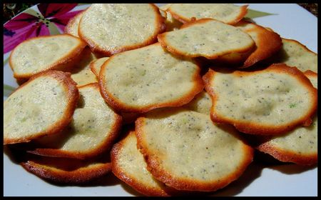 biscuits pavot citron vert