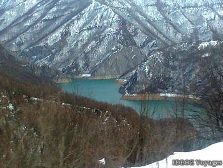 canyon lac Piva (Montenegro)
