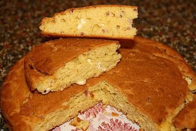 Cesnica, pain de maïs