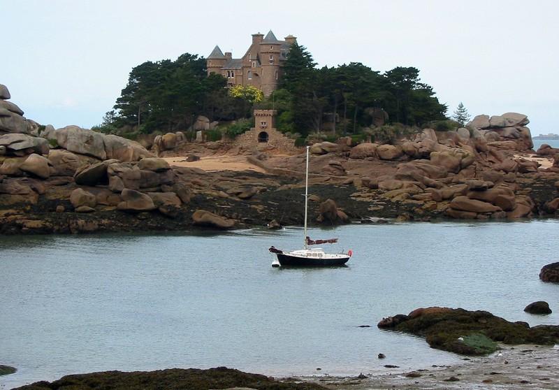 Château de Costaeres Bretagne