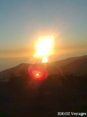 Coucher de soleil au Montenegro