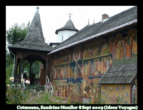 Cotmeana Monastere Roumanie Olténie