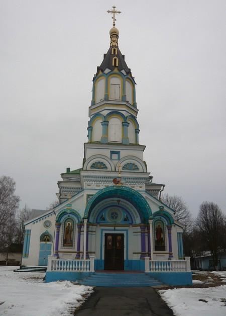 église sainte elie Tchernobyl ukraine
