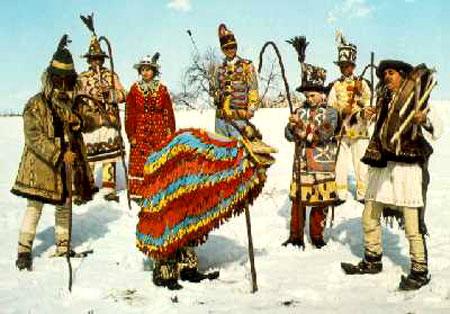noel roumanie tradition capra