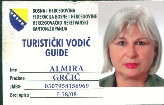 almira grcic guide mostar bosnie herzégovine