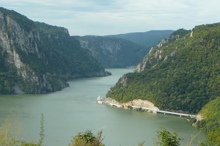 Portes de fer Danube Serbie Roumanie