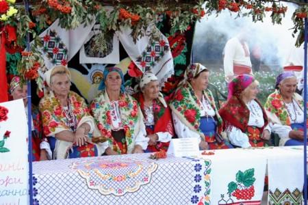 Femmes en costume traditionnel, Taurie