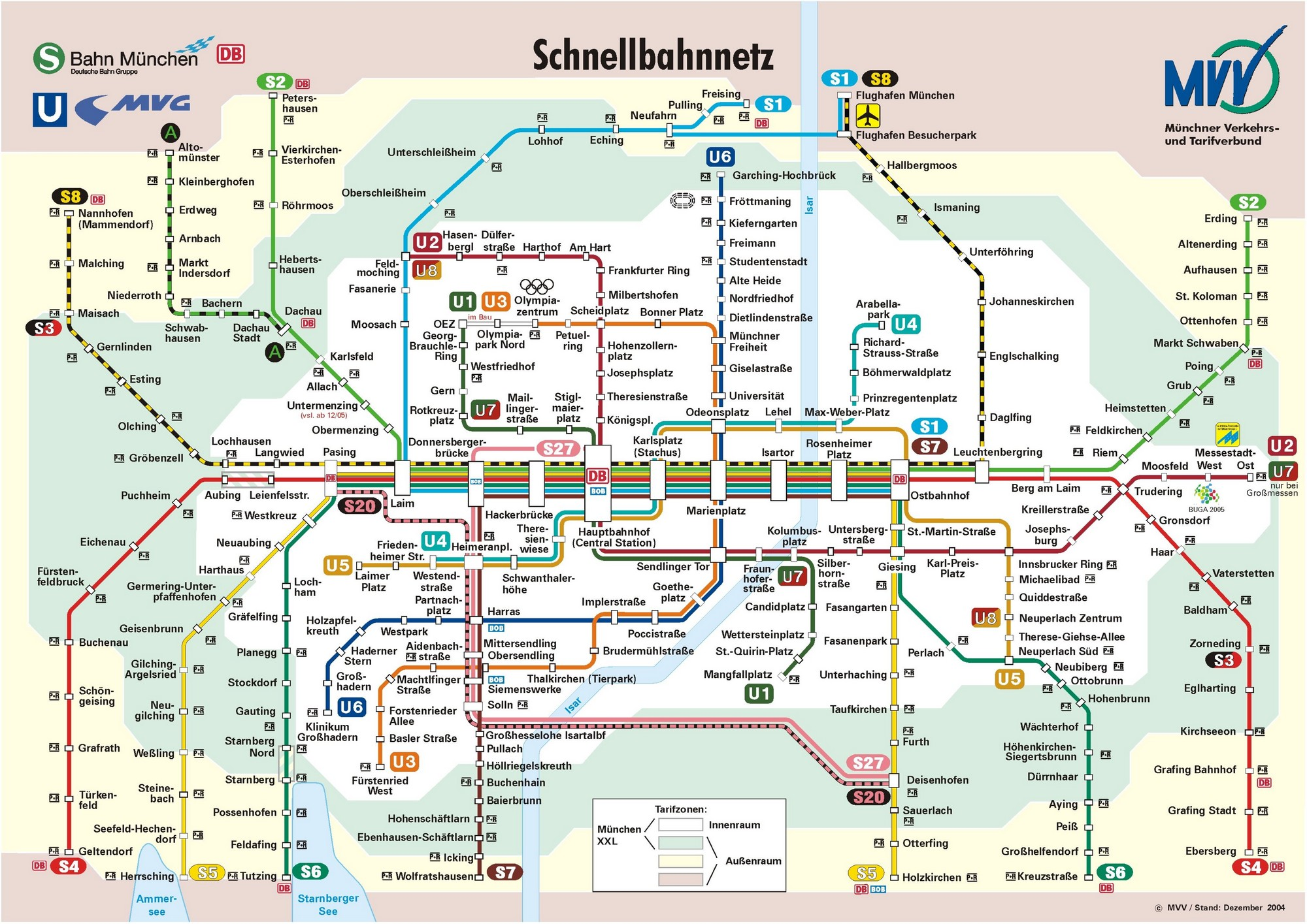 Munich mvv plan