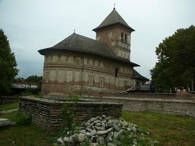 Strehaia Monastère Roumanie (Valachie)