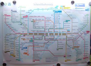 Ubahn plan metro munich