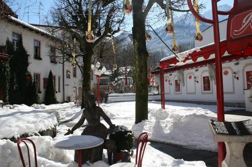 baviere terrasse hiver