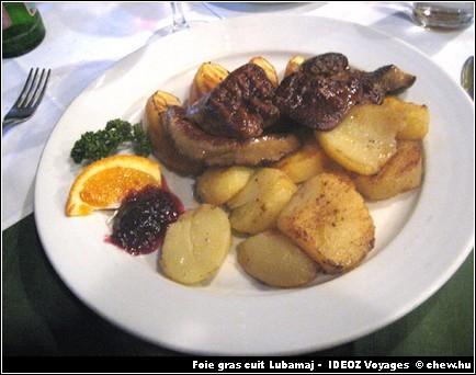 Lubamaj foie gras cuit hongrois