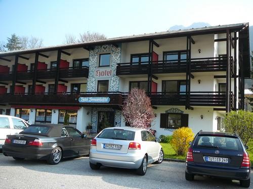 Alpen hotel Brennerbascht Bischofwiesen Bavière
