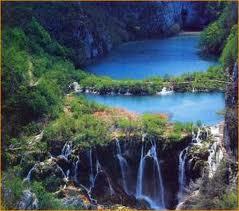 plitvice lac cascade