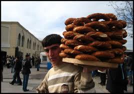 simit istanbul vendeur ambulant