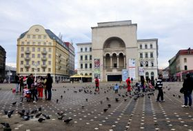 theatre national timisoara roumaine