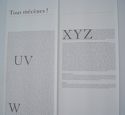 tous mecenes musee louvre