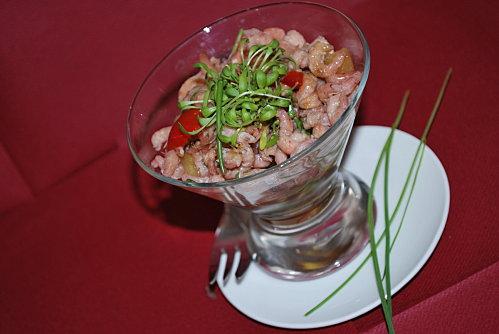 Crevettes piquantes aux ananas sauce chinoise (Recette asiatique) 1