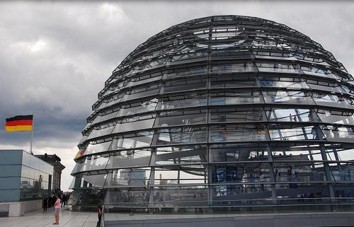 Berlin coupole Bundestag