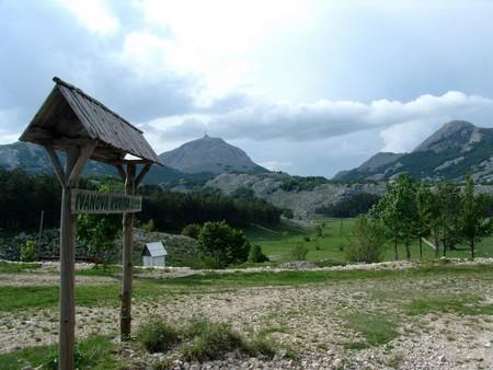 Entree parc national Lovcen