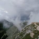 Lovcen brouillard