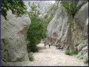 Paklenica entrée de Mala Paklenica