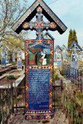 Le cimetière joyeux de Sapanta (Maramures, Roumanie) 5