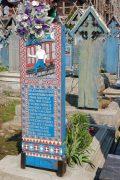 Le cimetière joyeux de Sapanta (Maramures, Roumanie) 3