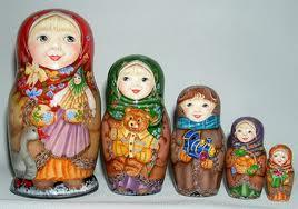 femme russe matriochka
