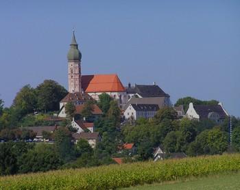 Abbaye Andesch (ammersee baviere)