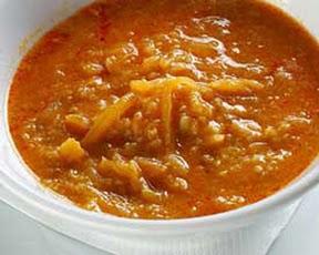 Bujta cuisine slovene