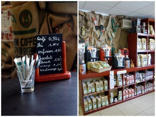 Le Centre de Caféologie à Bordeaux : produits gastronomiques, biologiques et équitables 1