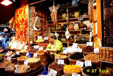 Istanbul bazar égyptien