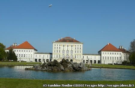 Nymphenburg chateau munich