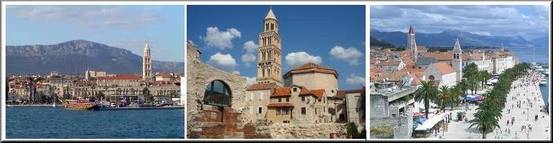 Split trogir Croatie Dalmatie