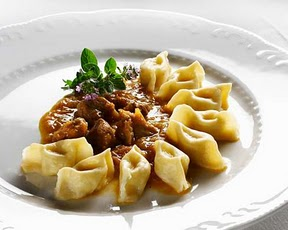 Zlikrofi cuisine slovene