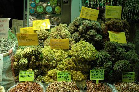 istanbul bazar egyptien thes turcs