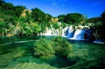 krka parc national croatie