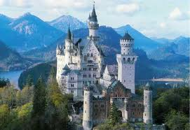 Neuschwanstein chateau Louis 2