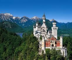 Neuschwanstein chateau de Louis 2 de Bavière