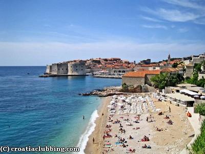 Banje Plage Croatie