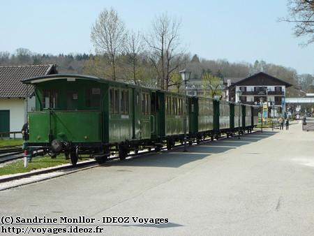 Chiemsee - Train touristique à vapeur