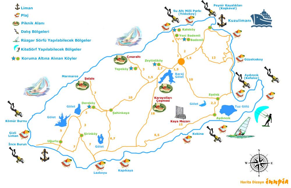 Gokceada, une île turque paisible en mer Egée (Turquie tourisme) 3