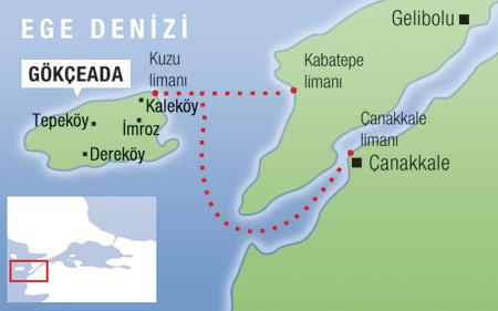 Gokceada, une île turque paisible en mer Egée (Turquie tourisme) 2
