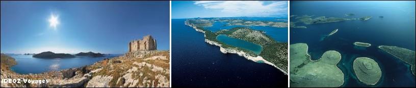 Iles Kornatie Dalmatie
