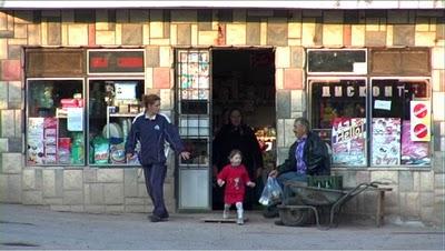 Serbie épicerie du village