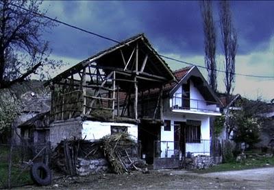 Serbie village maison ferme